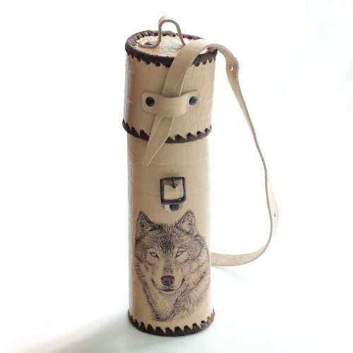 Термос для напитковвчехле ''Тубус'' 1,0 литра
