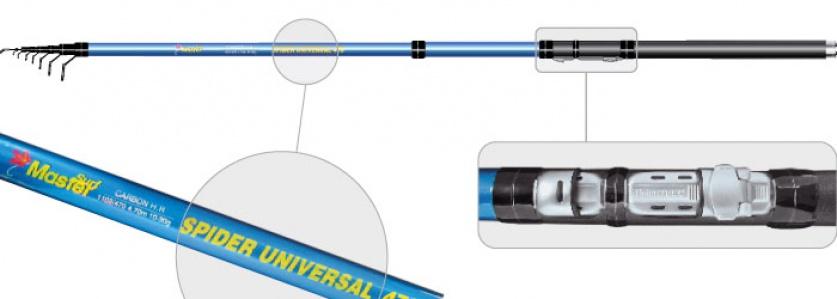 Уд. тел. с.с SMaster 1102 Spider universal 4,7м.