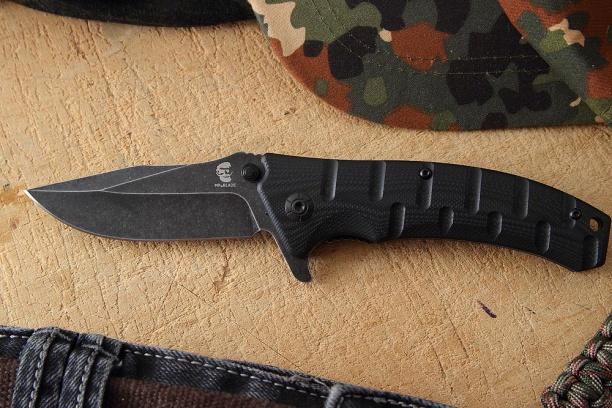 Складной нож Mr. Blade ''ODRA'' (black S.W)