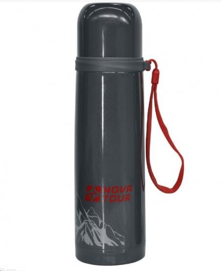 Термос для напитковизнерж. стали ''Соло 500'' 0,5 литра серый