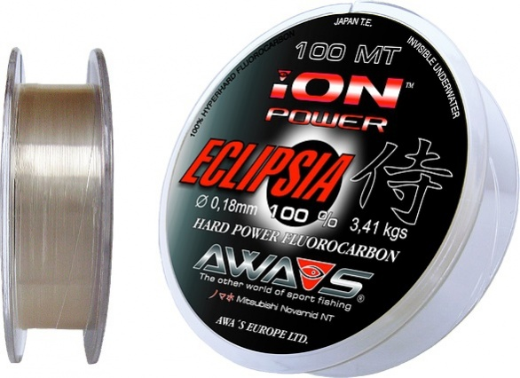 Леска Eclipsia Hard Power Fluorocarbon 100m.