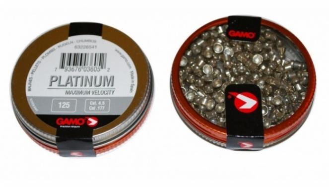Пули пневматические GAMO PBA Platinum 4,5 (125шт.)