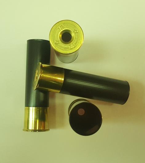 Гильза некапс. 12/76 Донце 20 мм.