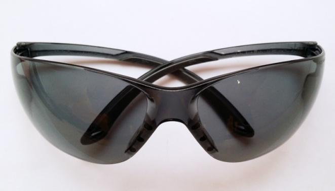 Очки стрелковые Stalker защитные, черные