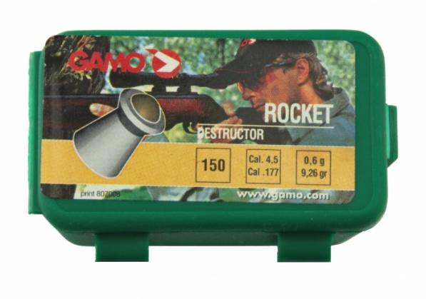 Пули для пневматики GAMO Rocket 4,5 мм0,6 грамма (150 шт.)