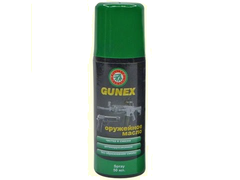 Оруж. масло Gunex 2000 spray 50 ml.