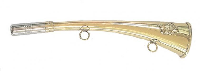 Горн охотничий (латунь) 16 см.