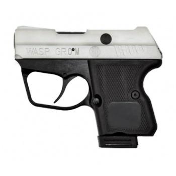 Пистолет WASP Grom к.9мм Р.А с никелированным покрытием