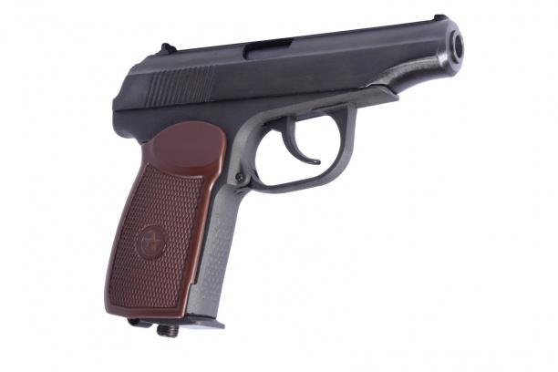 Пистолет пневм. МР-654К-20 cобн. рукояткой.