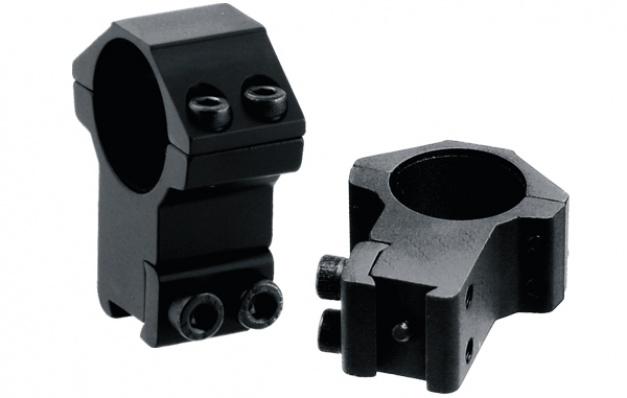 Кольца Leapers AccuShot 25.4 мм высокие 10-12 мм.