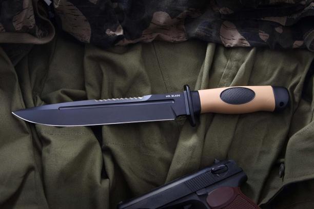 Охотничий нож ''Вежливый (Bland)'' пёсочный