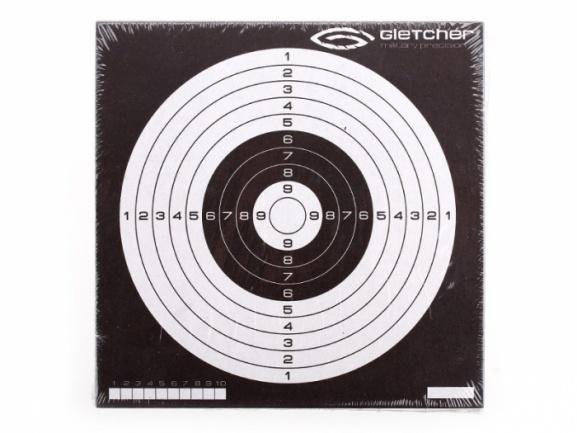 Мишень №14 ''Gletcher'' 140x140 мм (50 шт.)