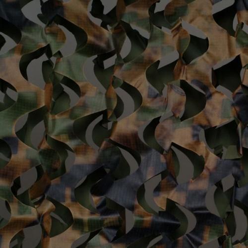Сеть маскир. Пейзаж ''Лес 3D'' (2,4x6 м) ПЛ-6
