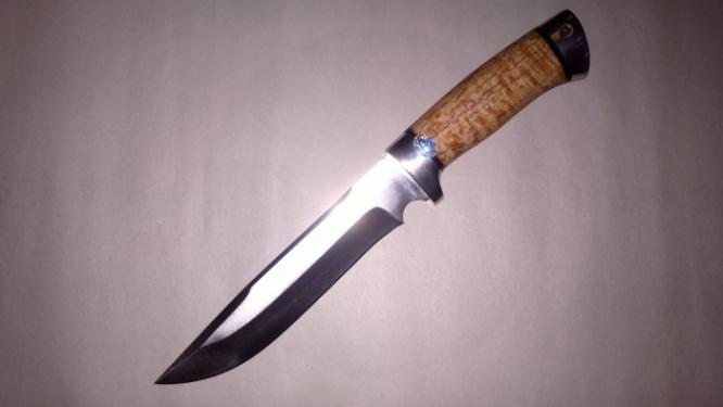 Нож охотничий (Златоуст) к.б 100х13м