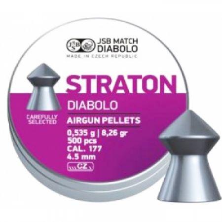 Пули пневматические JSB Diabolo Straton 4,5 0,535гр