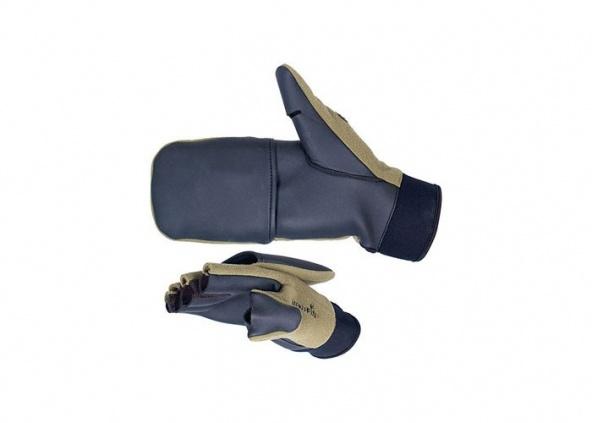 Перчатки-варежки Norfin WINDSTOP отстег.