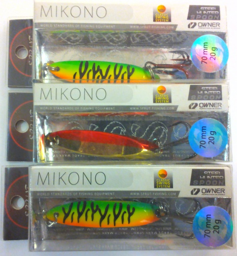 Блесна колебл. Sprut Mikono Spoon