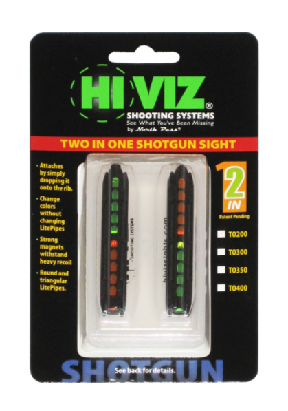 HiViz мушка TO300 2 мушки в 1 Мод.300 5,5-8,3мм.
