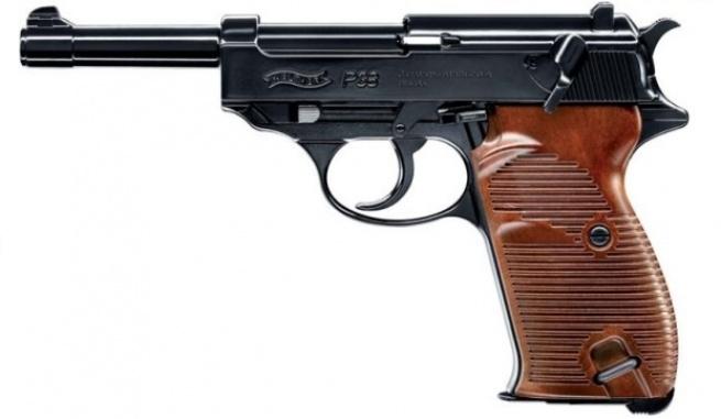 Пневматический пистолет Умарекс Walther P38