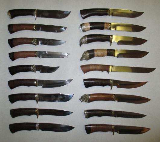 Ножи из стали 95Х18(кованые)