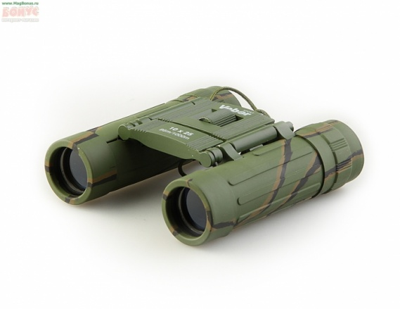 Бинокль БН 10х25 кам. Veber Sport