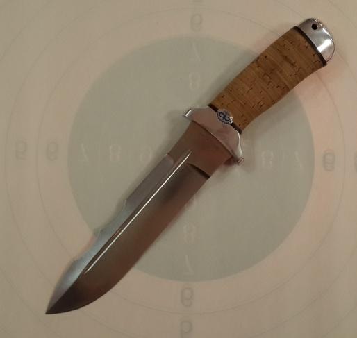 Нож охотничий ''Шерхан'' береста