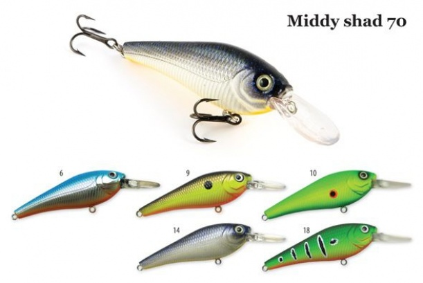 Воблер Middy Shad 70
