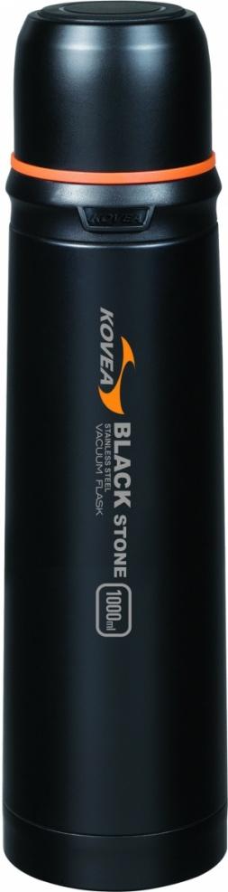 Термос для напитков черный 1литр KDW-BS1000
