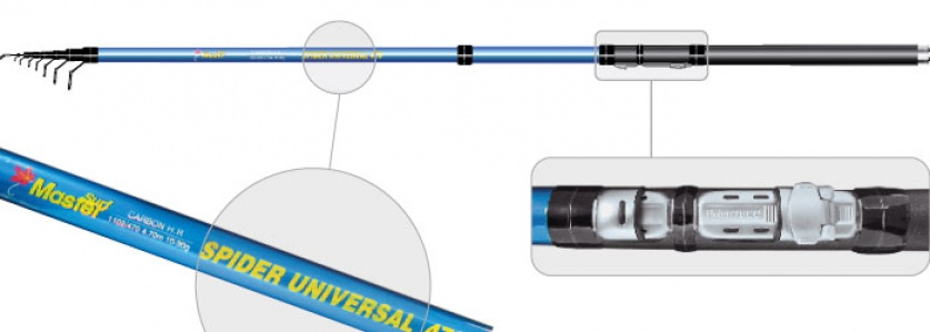 Уд. тел. с.с SMaster 1102 Spider universal 3,5м