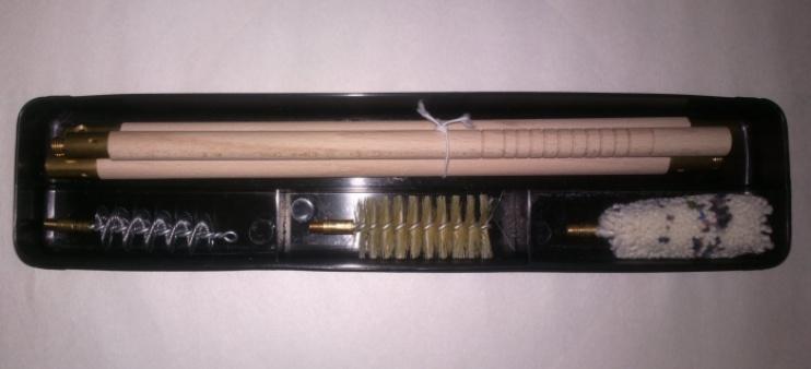 Набор для чистки коробка, калибр 12 шомпол-дерево