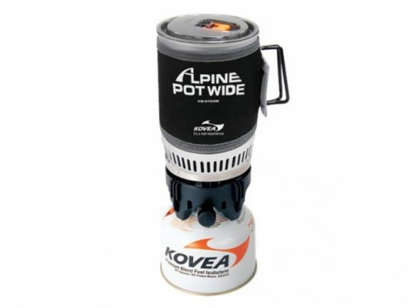 Комплект кастрюли и горелки Alpine Pot WIDE KB-0703W