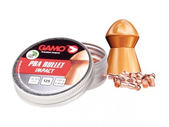 Пули для пневматики GAMO PBA Bullet 4,5 (125шт.)