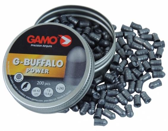 Пули для пневматики GAMO G-Buffalo 4,5 мм(200 шт.)