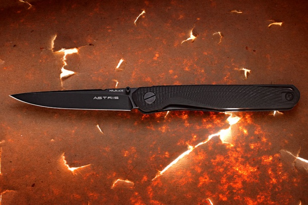 Нож склад. Mr. Blade ''ASTRIS'' black handle