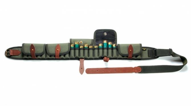 П-50к Патронташ изкордуры закрытый на25 патронов 12 калибр