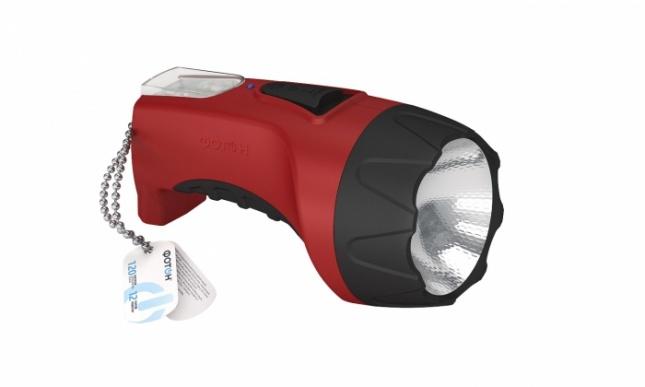 Фонарь акум.светодиод. ФОТОН PM-1500 Red (1W)