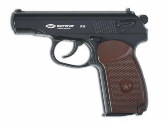 Пневматический пистолет Глетчер PM