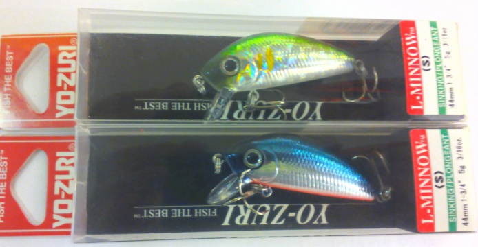 Воблер Yo-Zuri F199 L-Minnow 44mm