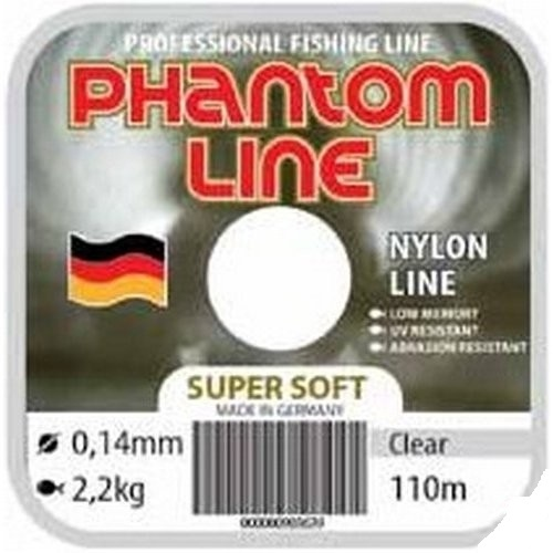 Леска Phantom Soft Clear в асс.