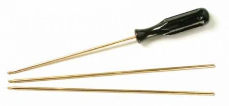Шомпол 3-х коленн. латунь 4 мм. (для нарез. оруж.)