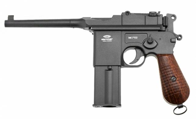 Пневматический пистолет Глетчер M712