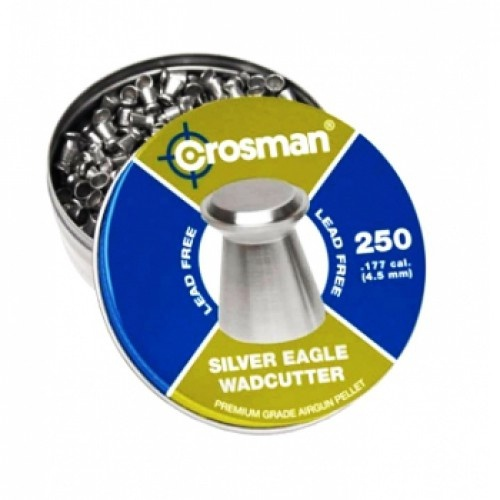 Пули пневматические Crosman Silver Eagle WC 4,5 мм 4,8 гран (250 шт)