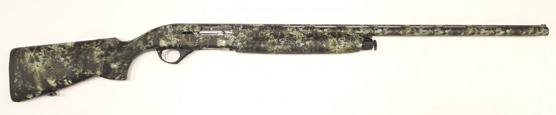 Ружьё ИР-111S 12/76 пласт. Криптек белый Soft Touch L760