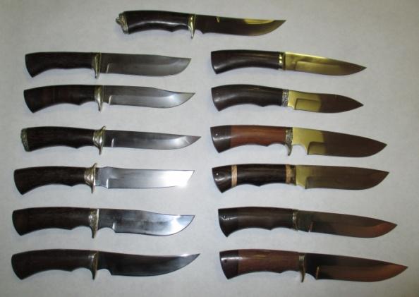 Ножи из стали Х12МФ (кованые)