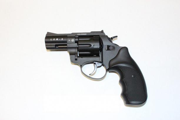 Револьвер сигнальный LOM-S 5,6×16 черн.
