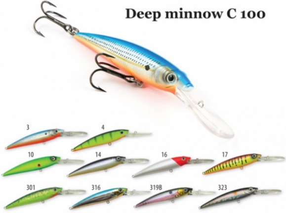 Воблер Deep Minnow C 100