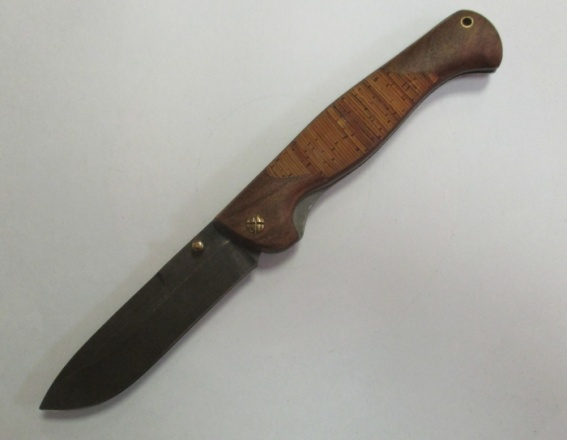 Нож складной ''Эртиль''(дам. береста)