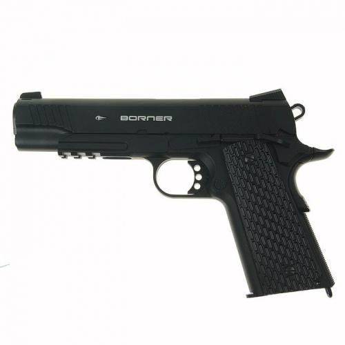 Пистолет пневм. BORNER KMB77 (blowback) 4,5 мм