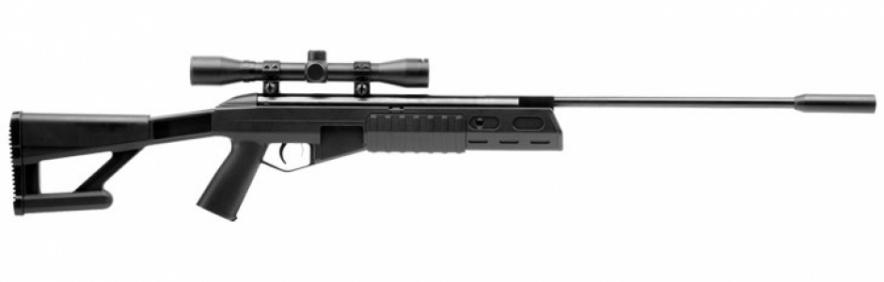 Пневматическая винтовка Кросман TR-77 (переломка, пласт.) прицел 4×32