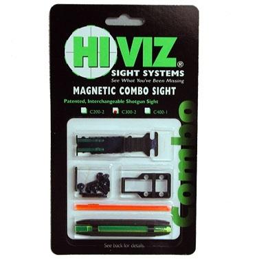 HiViz комп. из мушки и целика (мод. TS-1002 и М400) 8,2-11,3мм.